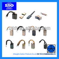 All Kinds of Carbon Brushes for Motor Generator Power tools