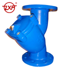 Ductile iron Y Strainer filter for water pipeline
