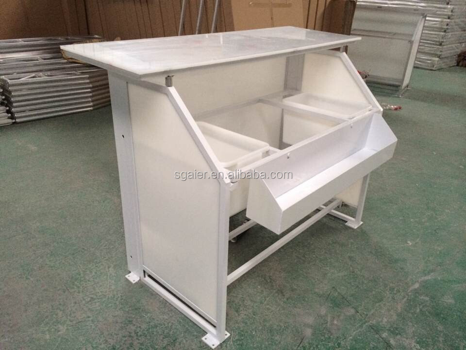 Portable Counter Folding Bar Table For Club And Event