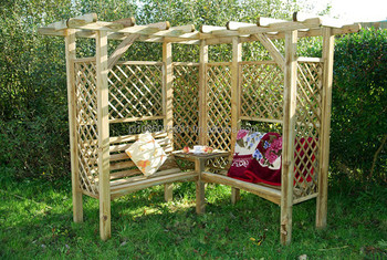 Milton Wooden Arbour Timber Arch