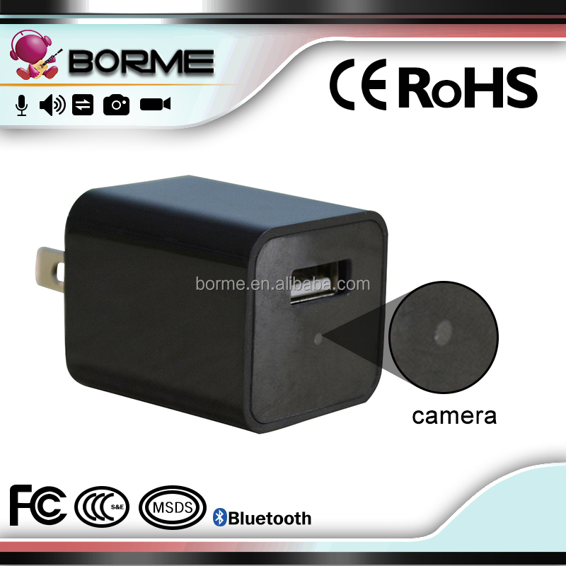 Top hd 1080p hidden camera wifi ip camera usb wall charger