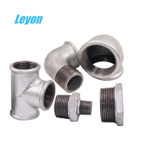 plumbing g.i. pipe fittings bushing connect iso9001equal tee 90 degree elbow hex reducing nipple 1/2 inch tee water pipe fitting