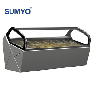 Commerical Stainless Steel Ice Cream Display Case/Ice Cream Fridge/Ice Cream Cabinet