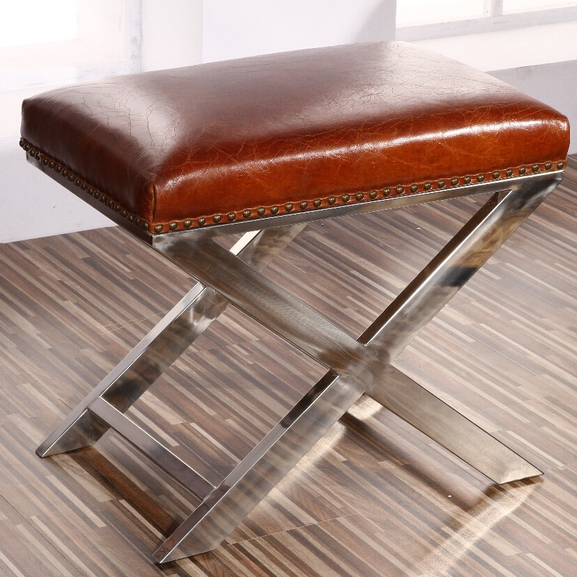 Bespoke Vintage Leather Trunk Side Table Product On Alibaba