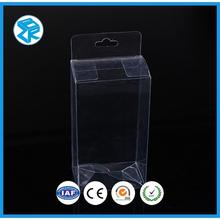 clear folding folded corrugated plastic square pvc box