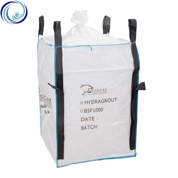 Heavy Duty White 1 Ton 2 Ton Water Proof China Manufacturer Wholesale Sand Packing Virgin PP Bulk Jumbo Bags