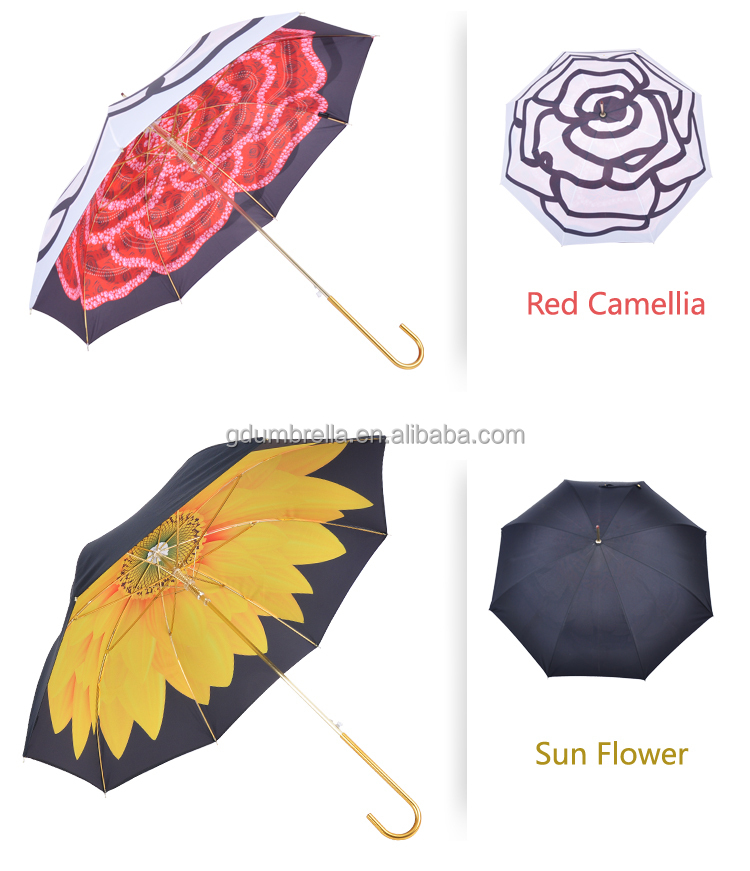 High quality gold umbrellas and retail price low