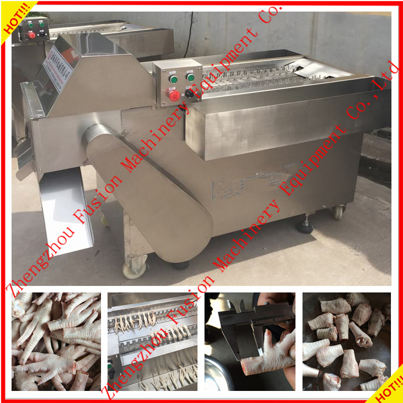 CHEAP PRICE automatic Chicken feet cutter/chicken paw cutting machine