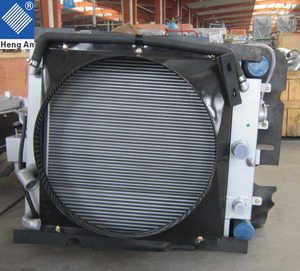 Radiator manufacture for Perkins engine radiator