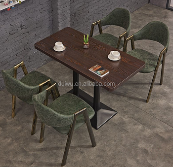 Hot selling antique hideaway dining table and chairs wholesale