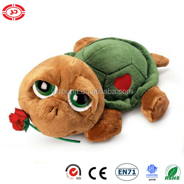 Rus-Berrie shelley valentine Teddy Turtle cute big eyes toy