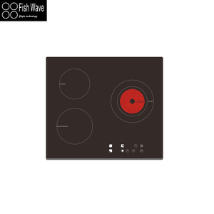 GS Certificate Built-in Electric Hob 2 3 4 5 6 Burners Induction Cooktop