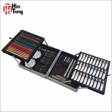 Hot sell 105pcs Alu Box Professional Painting Art Set for adult