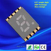 led smd 0.2 inch reverse mount 7 segment led display
