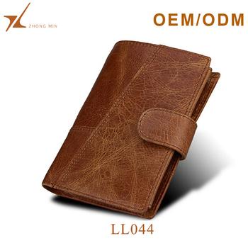 393a44d1d67 Custom Rfid Travel Purse Vintage Leather Men s Wallet - Buy Men s ...
