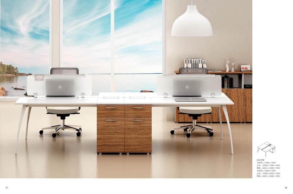 Muebles de oficina moderna moda peque a mesa de for Mesa oficina moderna