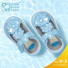littleblueamb T-strap princess wholesale lovely flower baby girl sandals dress shoes
