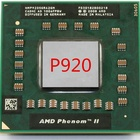 AMD quad core P920 HMP920SGR42GM notebook CPU quad core