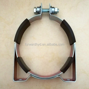 stainless steel pipe clamp for mounting