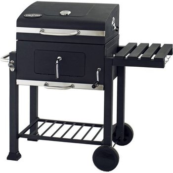 Backyard Charcoal Grill With Adjustable Tray