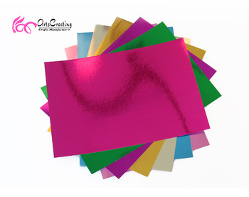 Cheap Price Metallic Color Paper Cardboard Sheets Buy Metallic