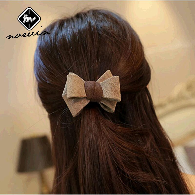 Norvin 2015 Simple bow women hair accessories elastic hair ...
