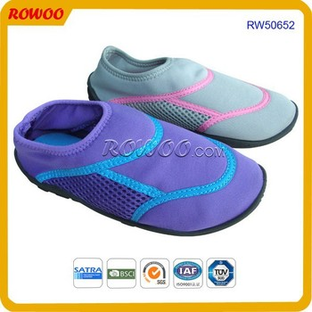17e68b4e72f7 Women s Easy USA Wave Water Shoes Beach Aqua Socks high quality neoprene  aqua shoes
