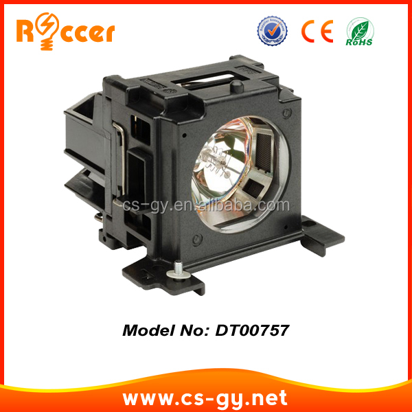 projector lamp parts with housing DT00757 for HITACHI HX2075A/HX2090/HCP-50X