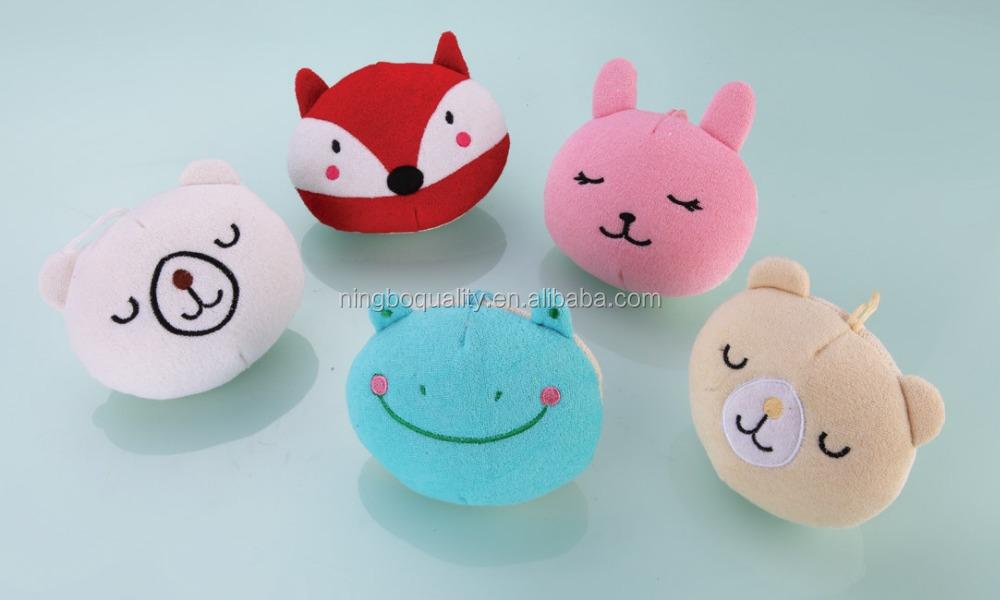 Novelty Cartoon Characters Baby Bath Sponges For Kids - Buy Bath ...