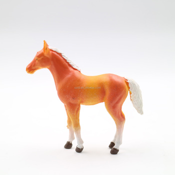 OEM made most popular plastic figures toy horse action figure