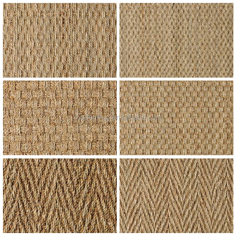 natural seagrass rug mat