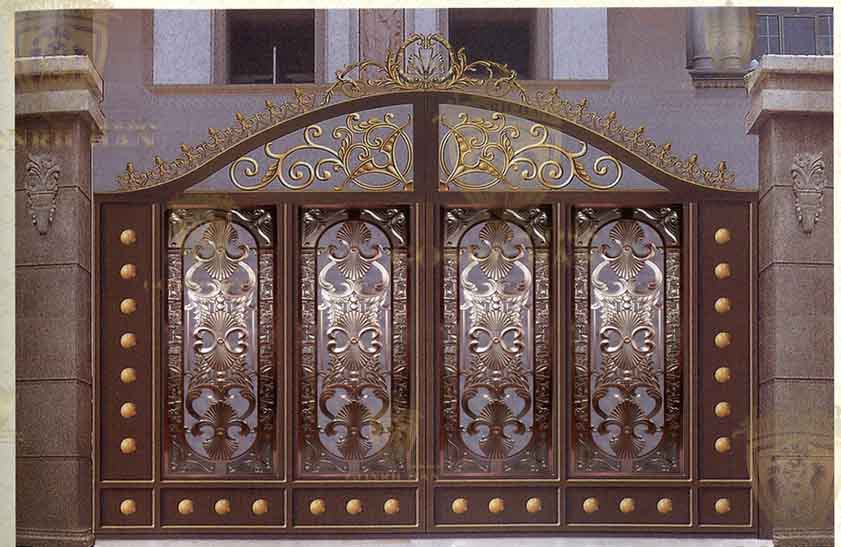 Front Door Designs,Wrought Iron Villa Gate Designs,Exterior,Patio6 ...