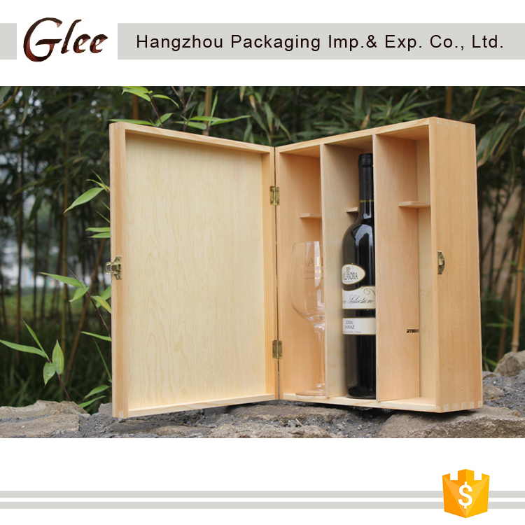 Wholesale Custom Wood Packing Box Pine Wood Gift Box