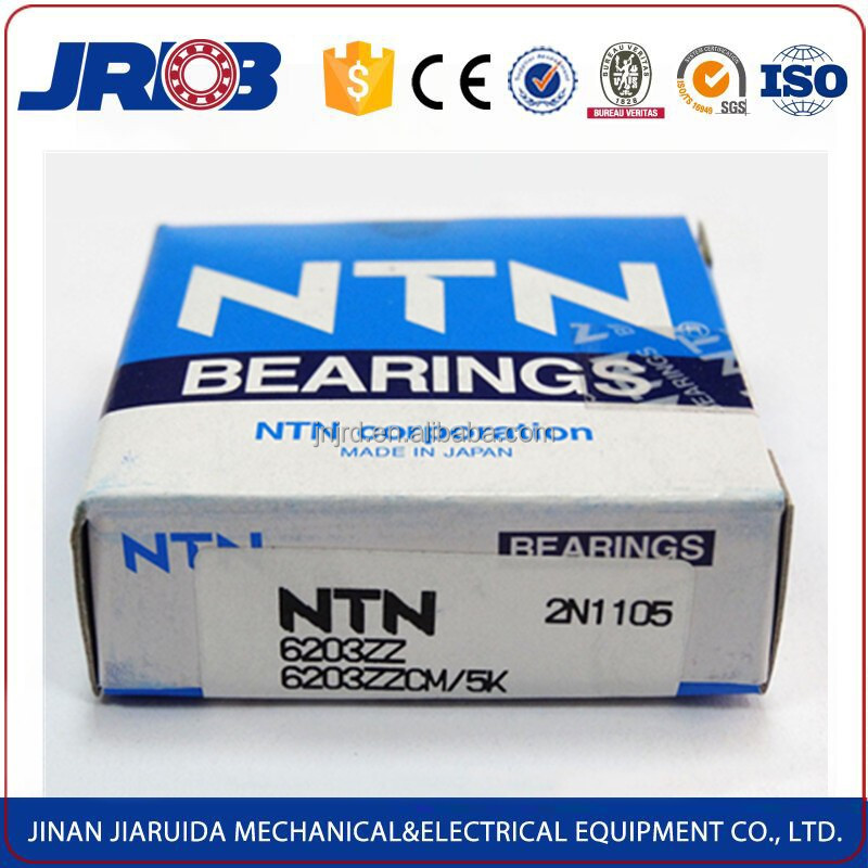 Original Japan japanese ball bearings NTN 6203 bearing