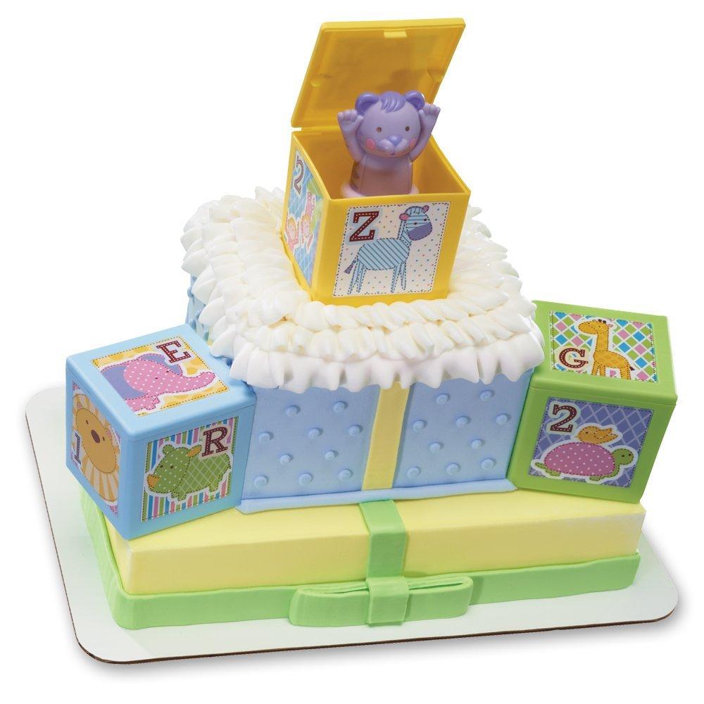 Decopac ABC Baby Blocks Signature DecoSet Cake Topper