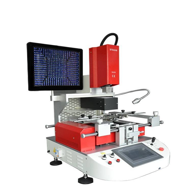 Automatic Optical Infrared BGA Rework Stations BGAs QFPs VGAs SMD LEDs Removal Mounting Soldering
