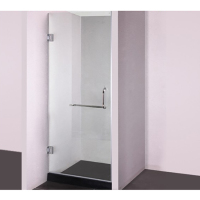 Cheap sliding single glass shower door