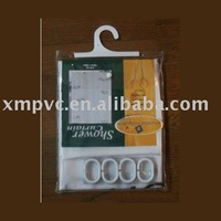 Clear pvc hook bag with pothhook D-HB077