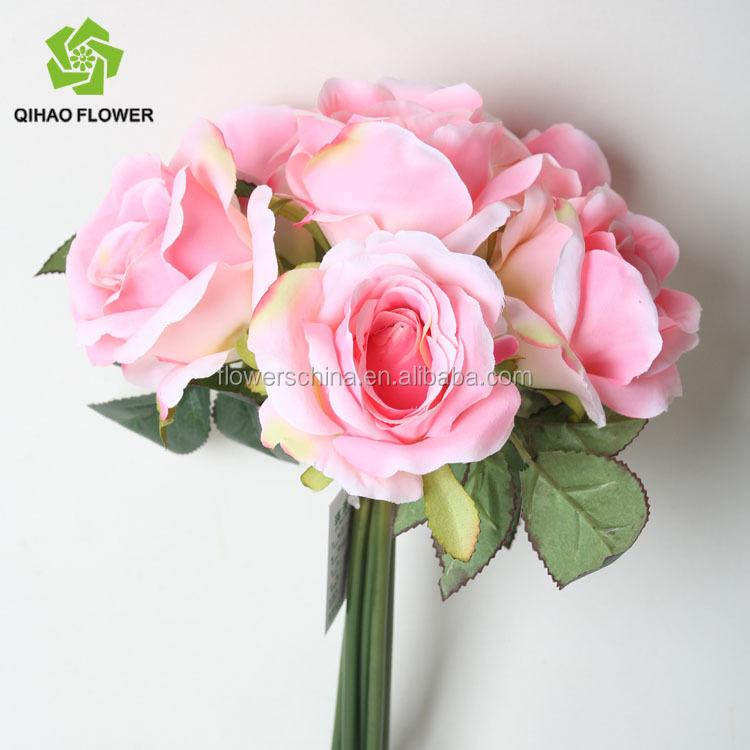 Artificial Fabric Flowers Rose Handmade Dough Flowers,Flower Rose ...