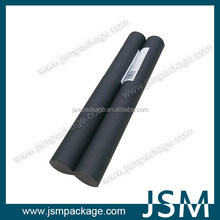 Round Cardboard Tube paper roll core for mailing with plastic cap