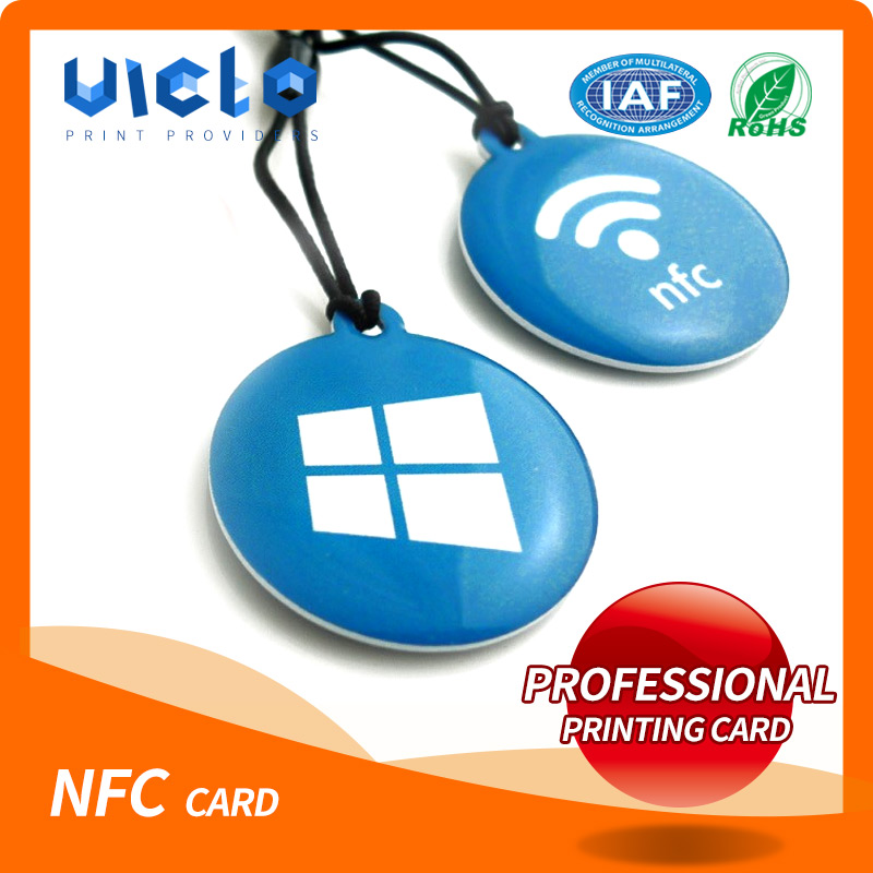 Economic and Efficient e-ticket nfc plastic card with best quality