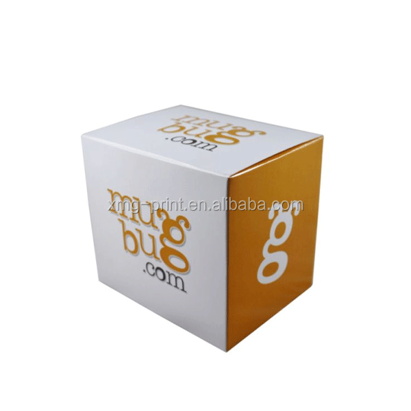 Fancy Mug Packaging Foldable Whiteboard Box For Cup Packaging