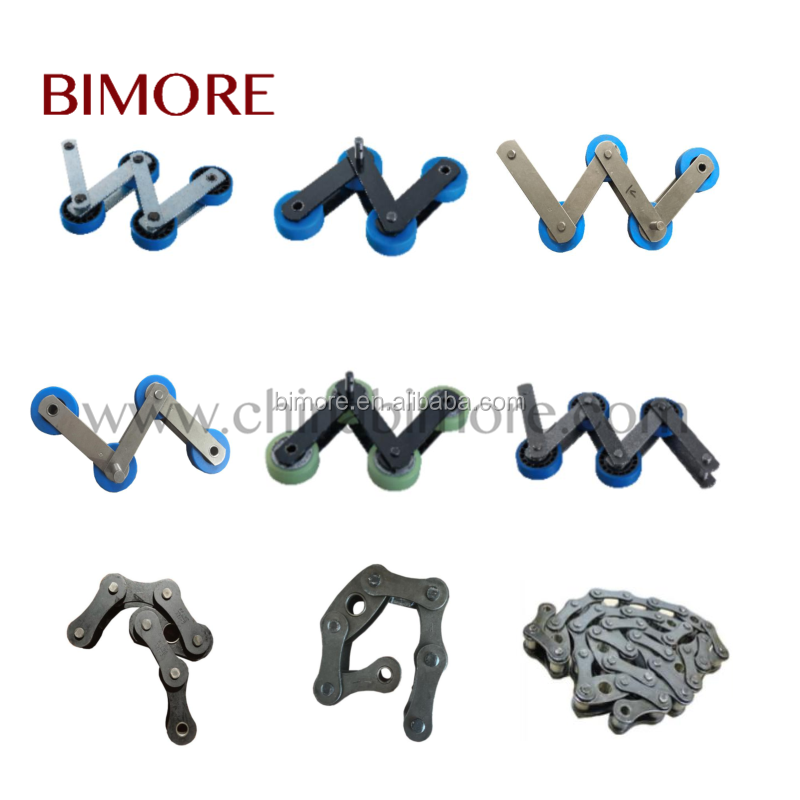High-quality Escalator step chain for all kinds of escalator pitch 135.47 135.73 133.33 136.8 135 67.733 68.4