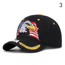 Бейсбольная Кепка с вышивкой орла, мужская, американский флаг, женская, Snapback, солнцезащитная, США, хлопковая кепка водителя грузовика, хип-хо...(Китай)