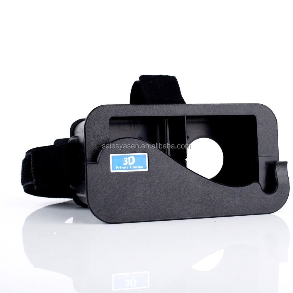 Virtual reality VR mobile phone Cardboard 3D glasses by Unofficial 3D movies games for iPhone 5, for iphone 5S ,for iPhone 5C