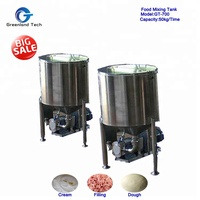 Free Samples High Technology GT-700 Food Mixing Tank 50kg/Time