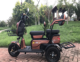 Super quality 2 seat three wheel electric tricycle mobility scooter for adults