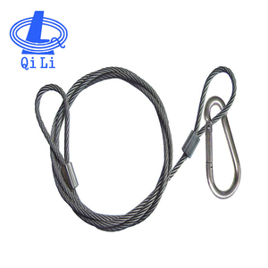 Galvanized wire clamp sling, wire rope clip, steel wire rope sling