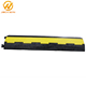 2-Channel Heavy Duty Flexible Floor Guardian Cable Protector For Road Safety