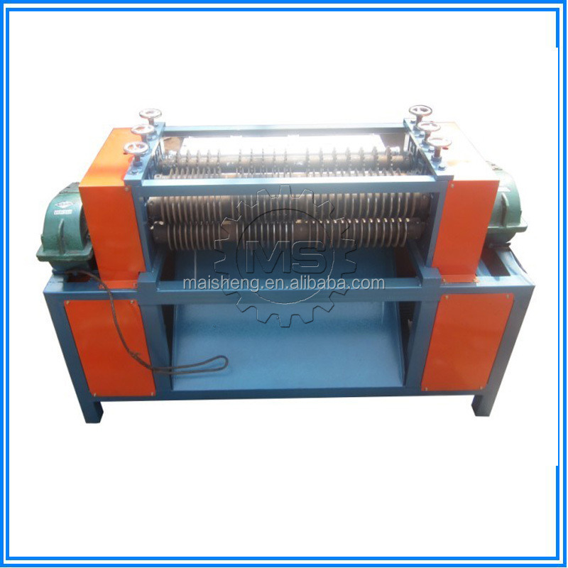 High separation rate car radiator/air contioner radiator/refrigerator radiator separator machine